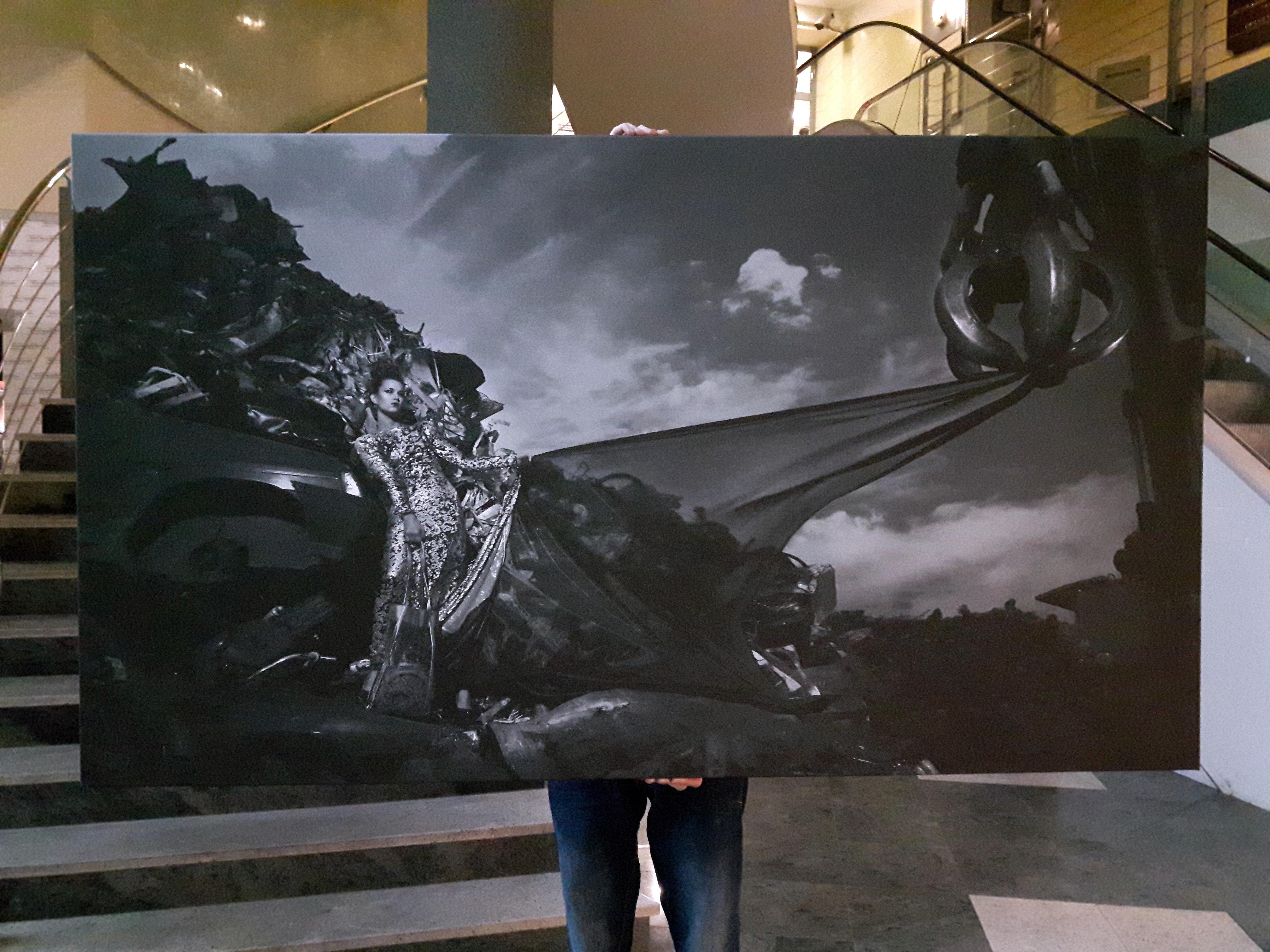 Wielkoformatowy wydruk na płótnie (canvas)