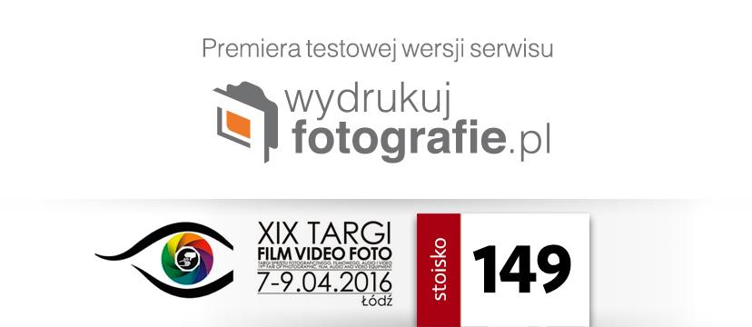 WydrukujFotografie.pl na targach Film Video Foto