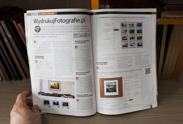WydrukujFotografie.pl w Foto-Kurierze
