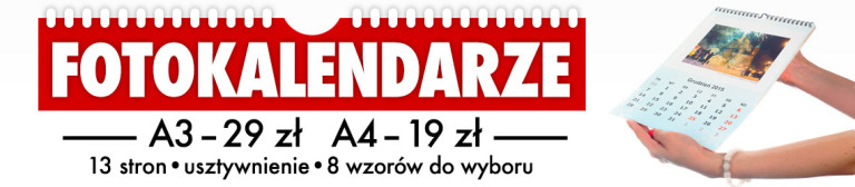 fotokalendarze A4 za 19 zł